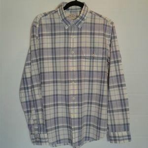 J Crew Madras men's shirt